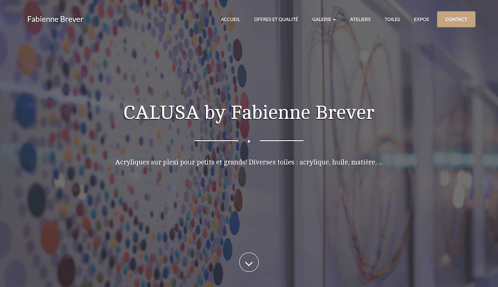 CALUSA by Fabienne Brever