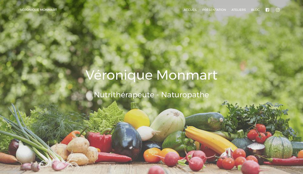 Véronique Monmart - Nutrithérapeute - Naturopathe